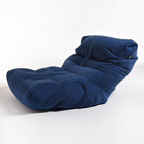 WERT Sitzsack, Bodenkissen Ausklappbarer Stoffbezug für Bett- und Spielzimmer, Lesung, Sitzsack, Ottomane, Liege, Stuhl, Couch Alternative.