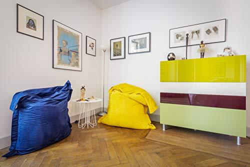 Shelto Sitzsack für drinnen 125 x 175 cm, Curcuma
