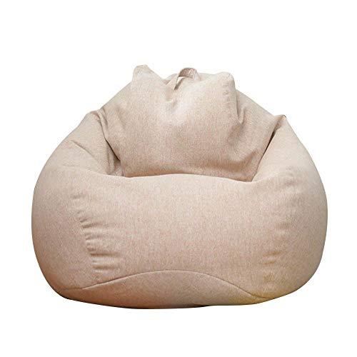 Sitzsack Sofabezug, Sitzsack, Sitzsack, Sitzsack, Sitzsack, abnehmbar und waschbar, flexibel und vielseitig dick, feiner Baumwolle, 750 g für Lazy Sofa Sitzsack Stuhl