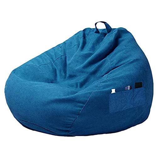 Swiftgood Simple Style Gewöhnlicher Sitzsack Sofabezug Sitzsack Stuhl Sofabezug ohne Füllstoff mit DREI Seitentaschen