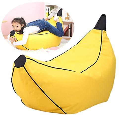ZRWZZ New Banana Lounge Sitzsack Lehnstuhl Faule Couch Entspannung Lounging Faule Sofa Personality Bean Bags Recliners Herausnehmbar Und Waschbar