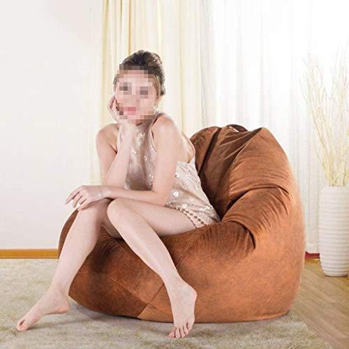 TINANG AE Big Bean Bag Boden Stuhl Faule Plüsch-Sofa-Stuhl for Kinder Erwachsene Wohnzimmer Balkon BeanBag Außen Garten Einzel Lehnstuhl Gamer Liege (Color : F)