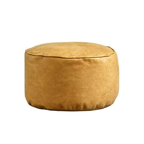 Sitzsack aus osmanischem Stoff Würfel Fußschemel Innen Wohnzimmer Sitzsack Fußstütze Sitz Bequemer ergonomisch gestalteter Fußhocker Sitzpuff für die Schlafzimmerhalle