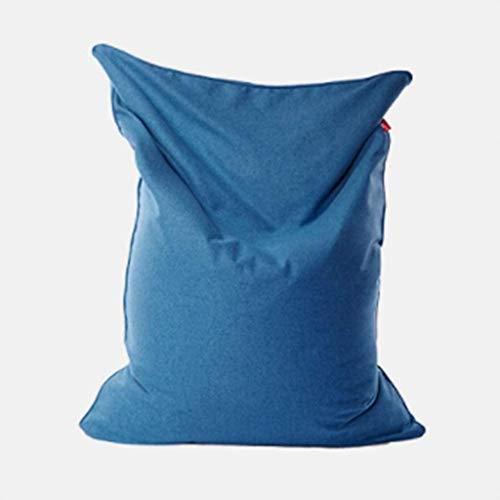 TINANG AE Big Bean Bag Boden Stuhl Hohe Qualität Faule Sofa-Stuhl for Kinder Erwachsene Wohnzimmer Balkon Sitzsack Im Freien Garten-Einzel Lehnstuhl Gamer Liege (Color : Royalblue, Size : EPS)
