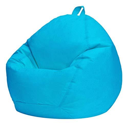 POHOVE Sitzsack für den Innenbereich, ohne Füllstoff, aus Oxford-Gewebe, nordischer Stil, für Schlafzimmer, weiche Möbel, Couch, Sofas, Erwachsene und Kinder (blau)