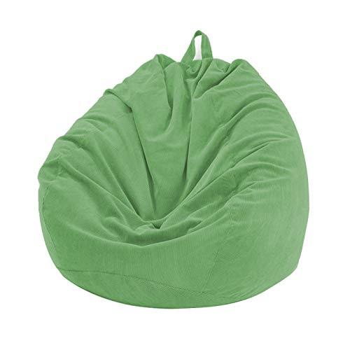 YYWJ Cord Sitzsack Stuhlbezug ohne Füllstoff für Lazy Sofa/Liege/Spielzeug Aufbewahrung Dicker und weicher Sitzsack DIY Gefüllt mit Decken Schaum für Erwachsene Kinder Wohnzimmer