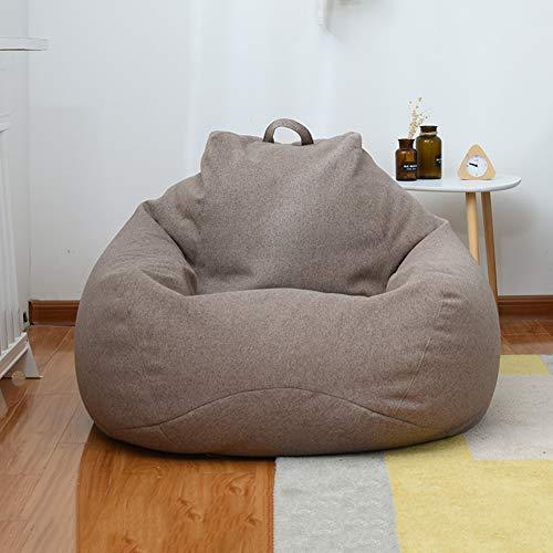 RH-ZTGY Sitzsack, Sitzsack Stuhl, Fauler Lounger Lehnstuhl Für Erwachsene Und Kinder Mit Keiner Füllung Indoor Outdoor Wasserdicht Beanbags,4,100 * 110cm