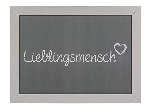 Out of the Blue 144196 - Kissen Tablett Lieblingsmensch, ca. 43 x 32,5 cm