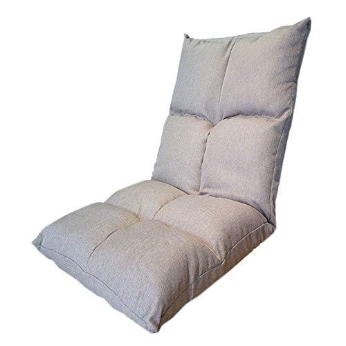 ZYLE Lazy Couch Tatami Sitzsack Single Stoff Sofa Schlafzimmer Erker bequemer Stuhl 110 × 54 × 14cm