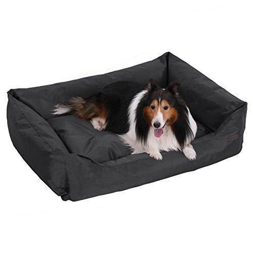 FEANDREA Hundebett, XL, Hundekissen, aus Oxford-Gewebe, unten mit einem Anti-Rutschboden, 100 x 70 cm PGW28H