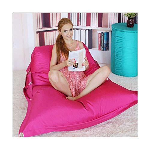 WYZQ Sessel Zip Together Kinder Sitzsäcke Schlafsofa Erwachsene Wasserdichtes Schlafzimmer Indoor Outdoor, Rot-190X140X20cm (Rot, 190X140X20cm), Möbel