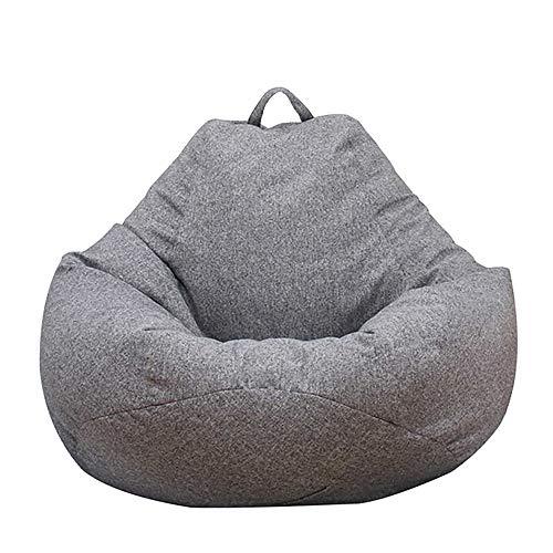 CloverStar Sitzsack-Sesselbezug Sitzsack Hülle, Sitzsack Erwachsene, extra groß, Sitzsackbezug für Kinder, Sitzsack-Bezug ohne Füllung (80x90cm)