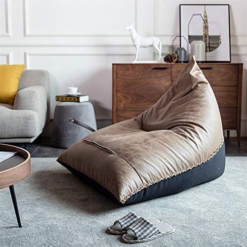Huabei2 Bürostuhl Klappstuhl Trainingsstuhl Esszimmer c Nordic fauler Sofa Sitzsack Tatami Tuch Ausdruck mit dem gleichen Industrie Stil faulen Sofa