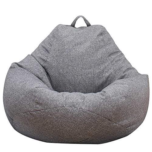 Sitzsack/Sitzsack/Sofa-Bezug für Kinder, Teenager und Erwachsene, große Aufbewahrung, Sitzsack für Plüschtiere und Kleidung